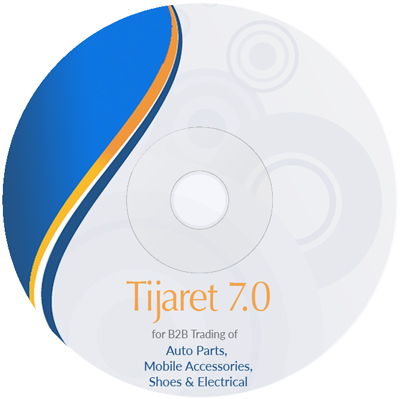 Tijaret : Customized solution for Auto Parts, Mobile Accessories, Shoes and Electric Stores